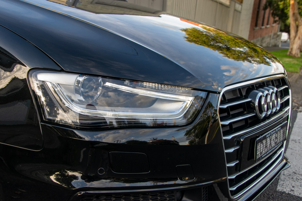 Deep Cleaning and detailing on Audi
